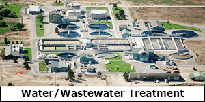 Water/Wastewater Treatment Plants
