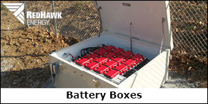 RedHawk Battery Boxes