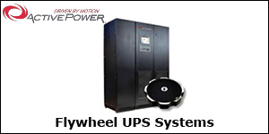 Active Power Flywheel UPS Systems